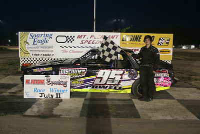 Feature winner #95 Brendan Powell