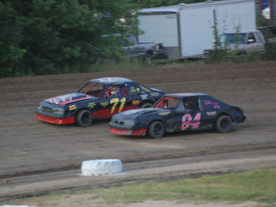#71 Scott Boyd and #94 Brittany Morris