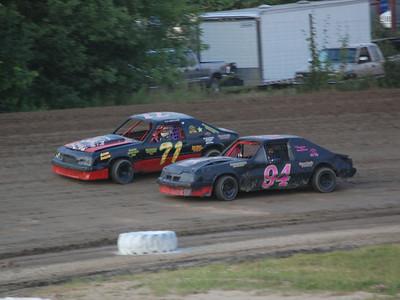 #71 Scott Boyd and #94 Brittany Morris