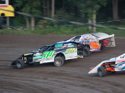 #39 Chad Spencer and #91 Nathan Carlon