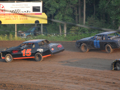 #15 Mike Kosha and #08 Doug Patterson