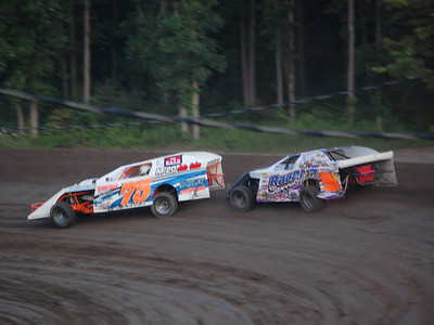 #75 Roy Harvey and #91 Nathan Carlon