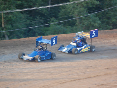 #5 Cory Roush and #5 Floyd Roush