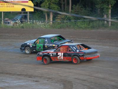 #23 Matt Buning and #21 Ken Patterson