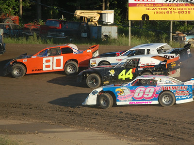 #80 Jeramie Raby, #26 Justin Giddings, #44 Greg Lamerand and #69 Nate Murphy