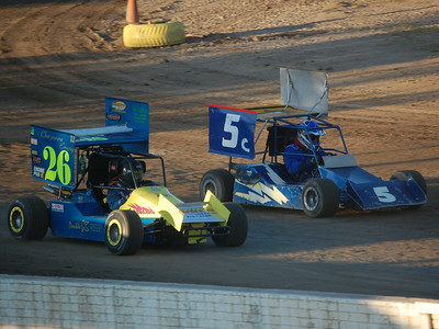 #26 Cheyenne Emery and #5 Floyd Roush