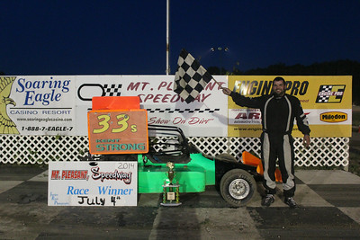 Feature winner #33 Kent Strong