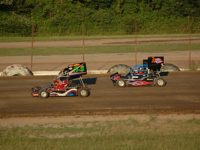#54 Bud Schrader and #23 Jon Miller