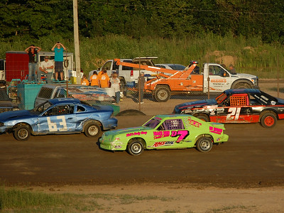 #63 Steve Keeler Sr., #D7 Tasha Decker and #21 Ken Patterson