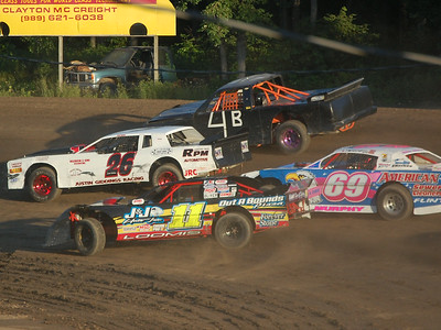 #4 George Wease, #26 Justin Giddings, #11 Josh Loomis and #69 Nate Murphy