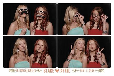 AUS 2014-04-05 Blake & April