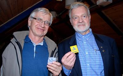 På årsmøtet ble distansemerket i roing ble utdelt i sølv til Olav Nessa og i gull til Svein Åge Johnsen