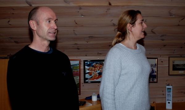 Odd Geir og Ellen ledet foreldremøtet