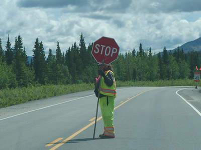Alaska's highways are under construction. Yes all of them.