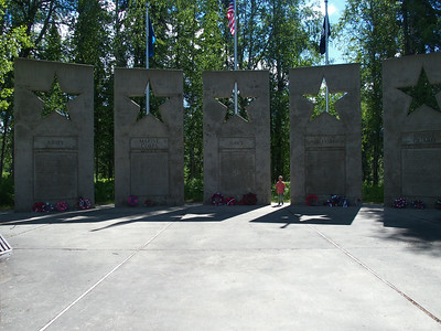 Alaska war vetarans memorial