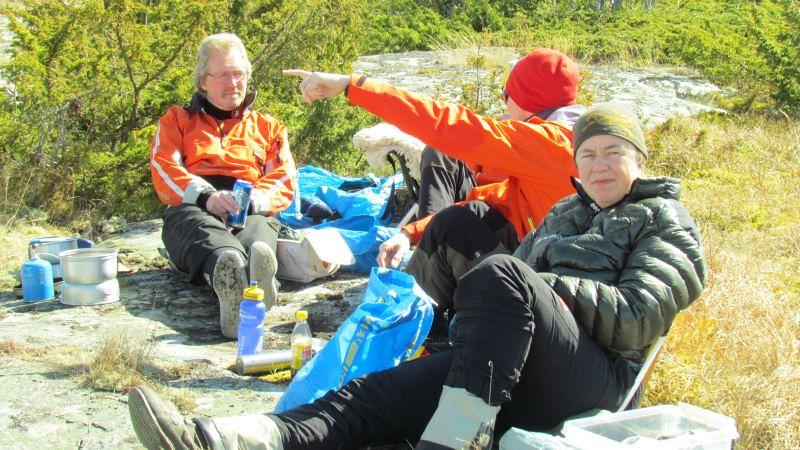 Ulf, Micke och Carin