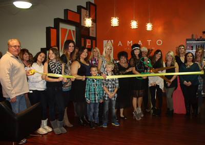 Amato Hair Design Ribbon Cutting & Business After Hours - October 17