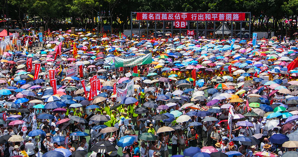 Anti-Occupy March, Hong Kong