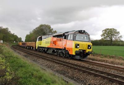 70802 Oakley 27/04/14 6C03 Romsey to Eastleigh