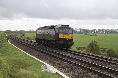 47746 Overton 26/04/14 0Z82 Victoria to Salisbury