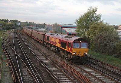 66104 Northam 24/04/14 6O42 Halewood to Southampton Eastern Docks