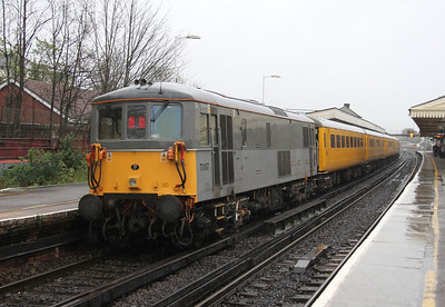 73107 Basingstoke 25/04/14 on the rear of 1Q07 Hither Green to Hither Green via Fawley