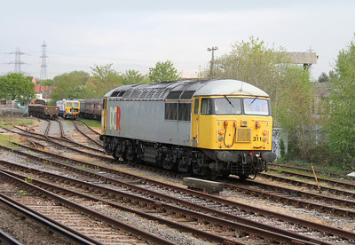 56311 Totton Yard 28/04/14 having arrived as 0Z57 from Willesden