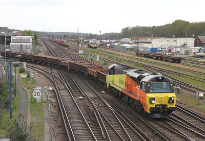 70802 Eastleigh 21/04/14 6Z30 Westbury to Eastleigh