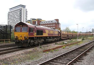 66024 Basingstoke 23/04/14 6M66 Southampton Western Docks to Trafford Park