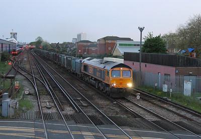 66717 Northam 24/04/14 4Y81 Southampton Western Docks to Tonbridge