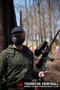 Miller and Sean's Bachelor Parties & PWC Paintball - 4/12/2014 1:30 PM