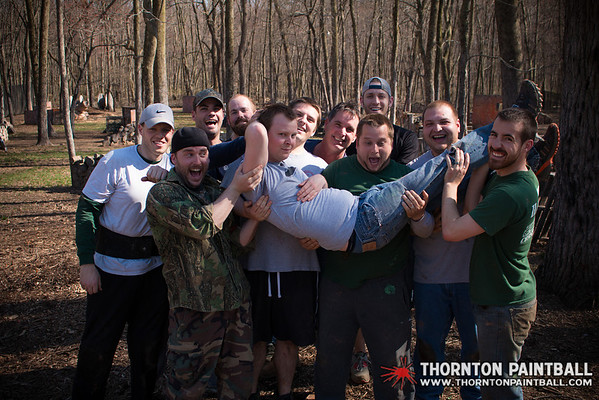 Miller and Sean's Bachelor Parties & PWC Paintball - 4/12/2014 3:03 PM