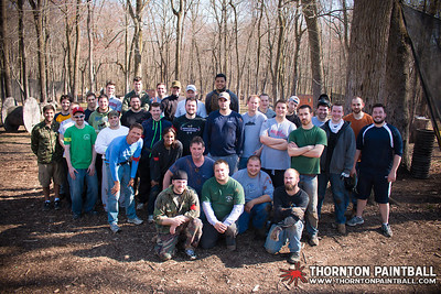 Miller and Sean's Bachelor Parties & PWC Paintball - 4/12/2014 3:00 PM