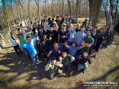Miller and Sean's Bachelor Parties & PWC Paintball - 4/12/2014 4:01 PM