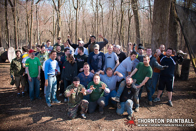 Miller and Sean's Bachelor Parties & PWC Paintball - 4/12/2014 3:01 PM