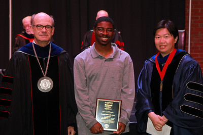 59th Academic Awards Day; Spring 2014. Wallace Carpenter Management Information Systems Award: Dwayne Anthony Jenkins