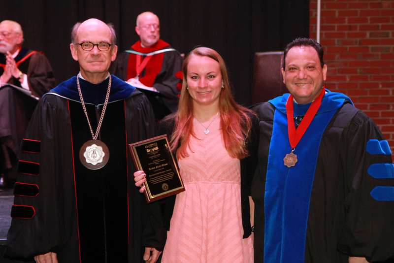 59th Academic Awards Day; Spring 2014. International Business Award: Kristen Nicole Ellison