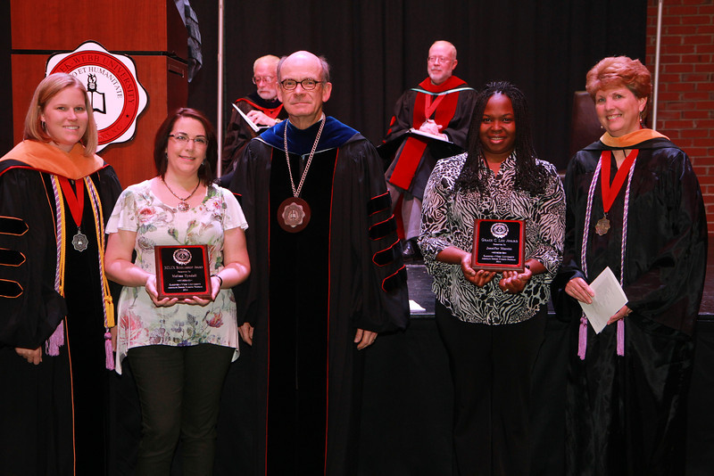 59th Academic Awards Day; Spring 2014. ADN NCLEX Scholarship Award: Melissa S. Tyndall
