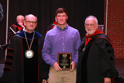 59th Academic Awards Day; Spring 2014. Finance Award: Lucas Charles Beatty