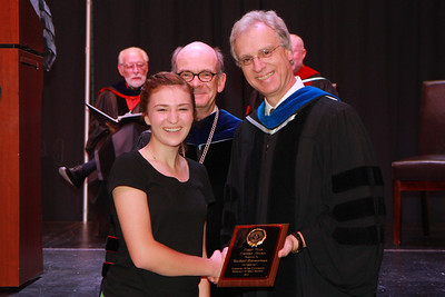 59th Academic Awards Day; Spring 2014. First Year History Award: Rachael LaRae Zimmerman