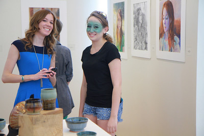 GWU Art Show in Tucker Student Center; Spring 2014