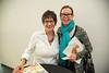 left, Deborah Gipson; right, Adrienne Hamer