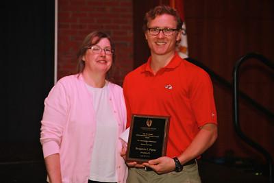 Alfred & Shirley Wampler Caudill Service-Learning Award: Benjamin J. Payne