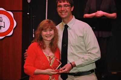 Justin Scot Alston LIFE Award: Olivia Huffman