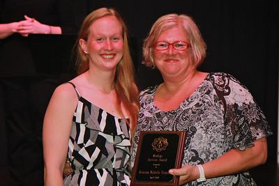 Biology Service Award: Kristina Grayson