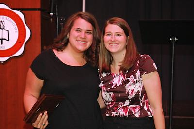 Outstanding SGA Members: Emie Salem and Nancy Cates