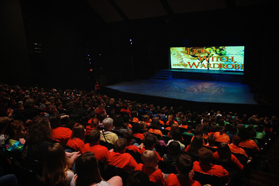 """Gardner-Webb University Theatre presents """"The Lion, The Witch, and The Wardrobe."""" Spring 2014."""