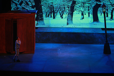 "Gardner-Webb University Theatre presents ""The Lion, The Witch, and The Wardrobe."" Spring 2014."
