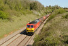 15 April 2014 :: 60020 passing Wickwar powering 6B13 from Robeston to Westerleigh