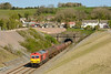 15 April 2014 :: 60063 is seen emerging from Chipping Sodbury Tunnel on 6B33 from Theale to Robeston